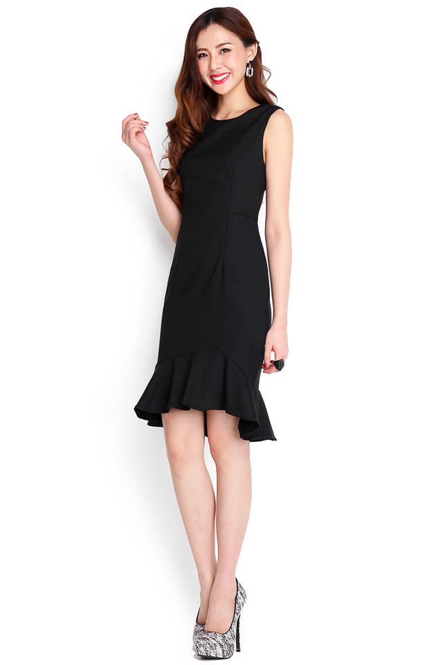 After Midnight Dress In Black
