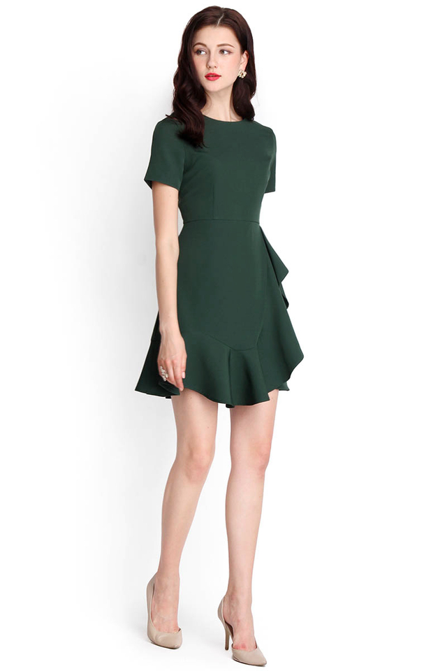 Sonnet Of The Forest Dress In Green