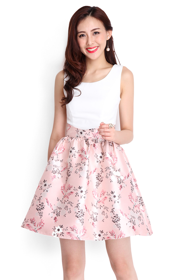 Soul Companion Dress In Pink Florals