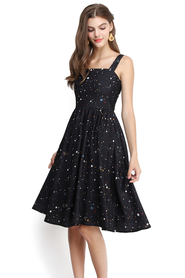 Picasso Muse Dress In Classic Black