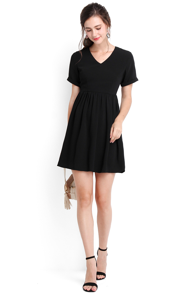 Time Of My Life Dress In Classic Black