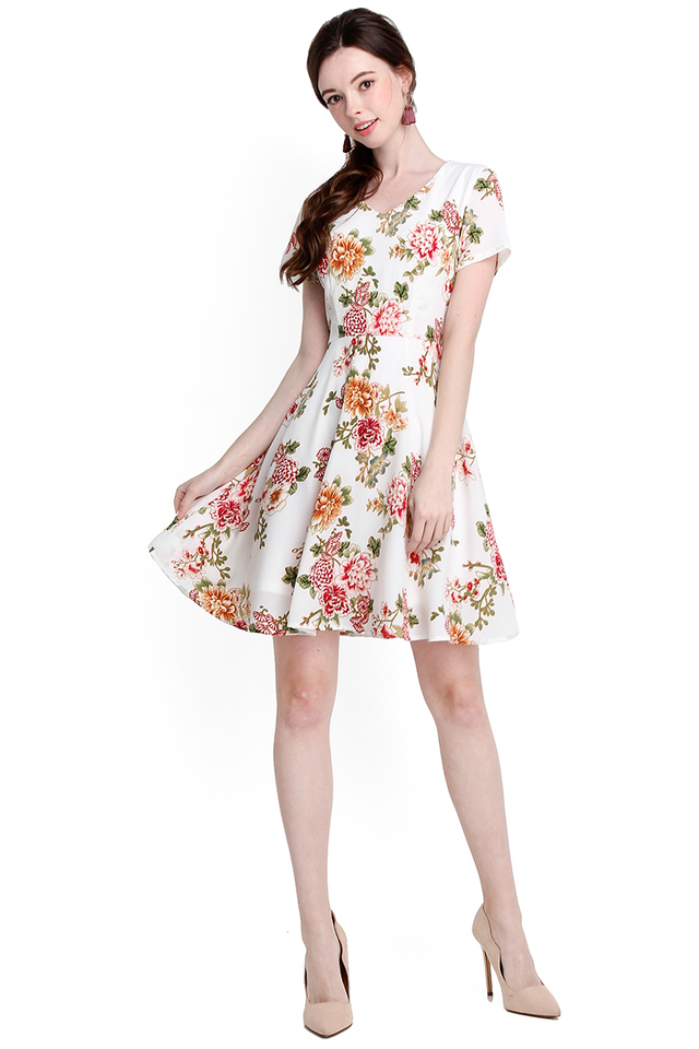 Exuberant By Nature Dress In Classic White
