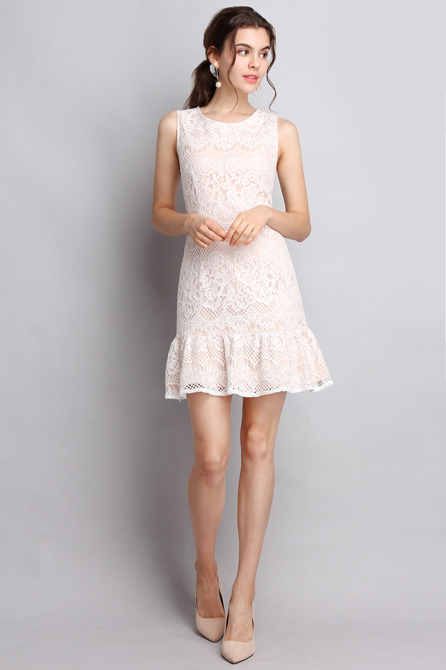 City Of Romance Dress In Classic White