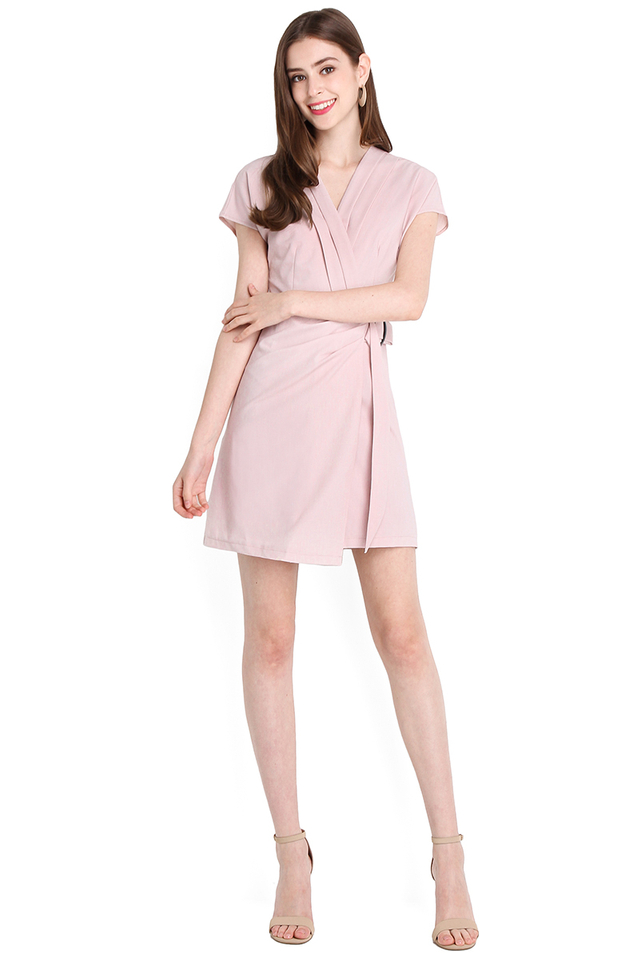 Across The Universe Dress In Dusty Pink