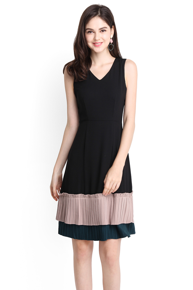 Kindred Soul Dress In Classic Black
