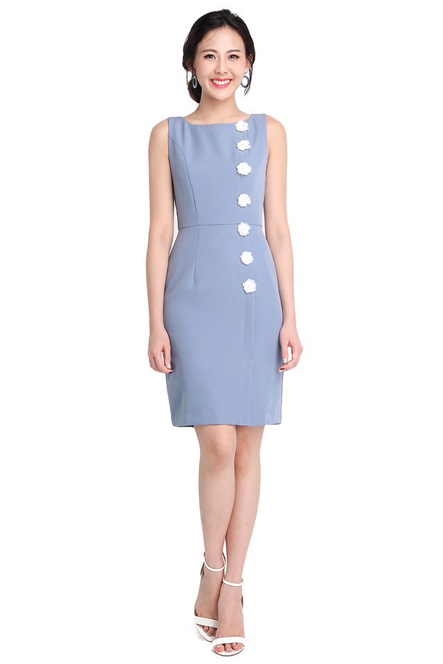 Cherished Appeal Dress In Periwinkle