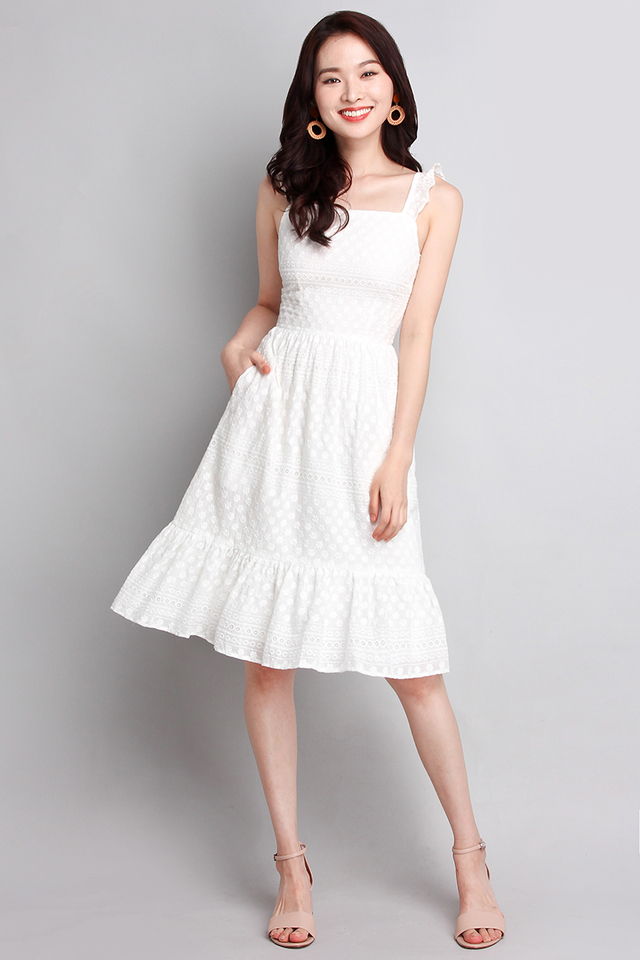[BO] Summer Favourite Dress In Classic White