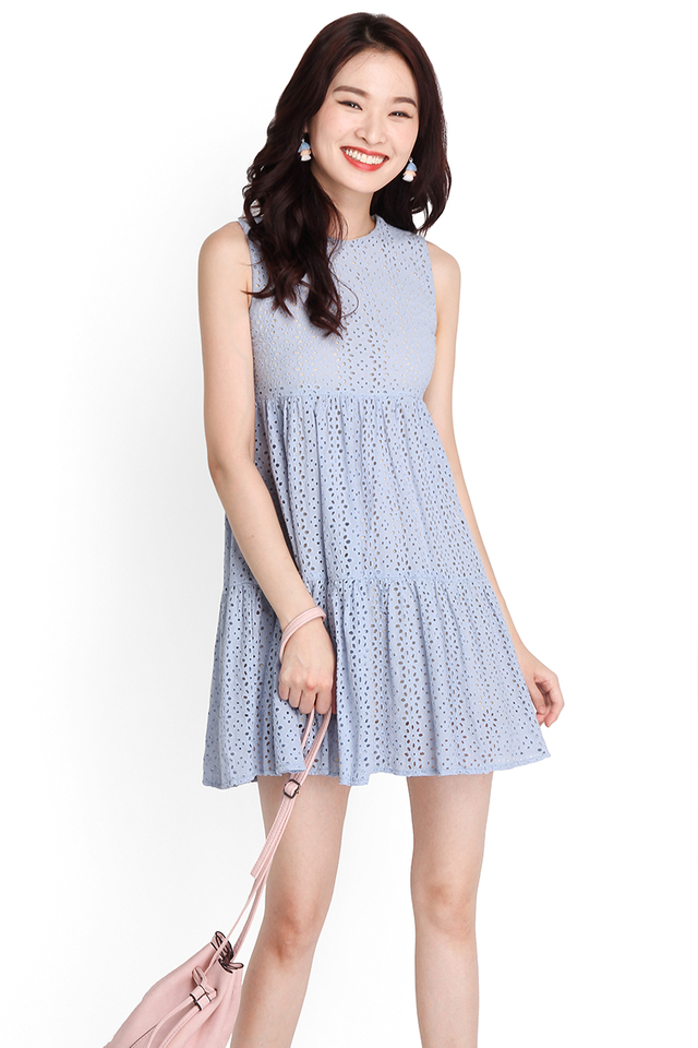 Good Day Sunshine Dress In Periwinkle