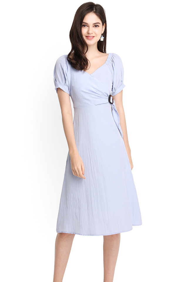 Summertime Romance Dress In Periwinkle