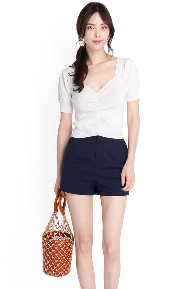 Kelly Top In Classic White