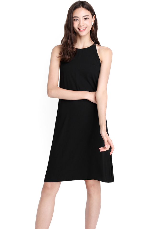 Darlington Dress In Classic Black