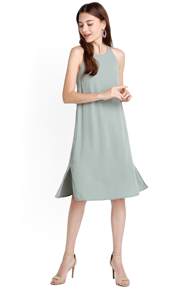 Darlington Dress In Jade