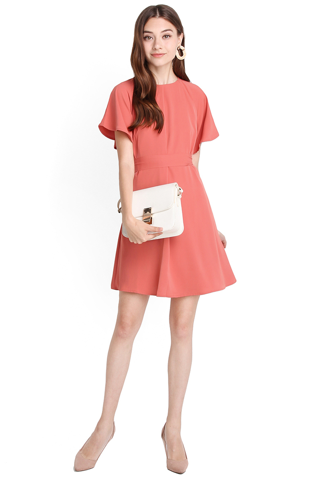 Youthful Philosophy Dress In Tea Rose