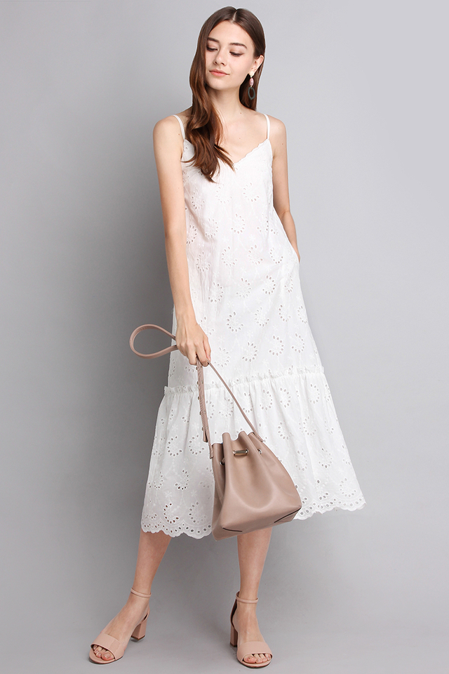 Enchanted Beauty Dress In Classic White