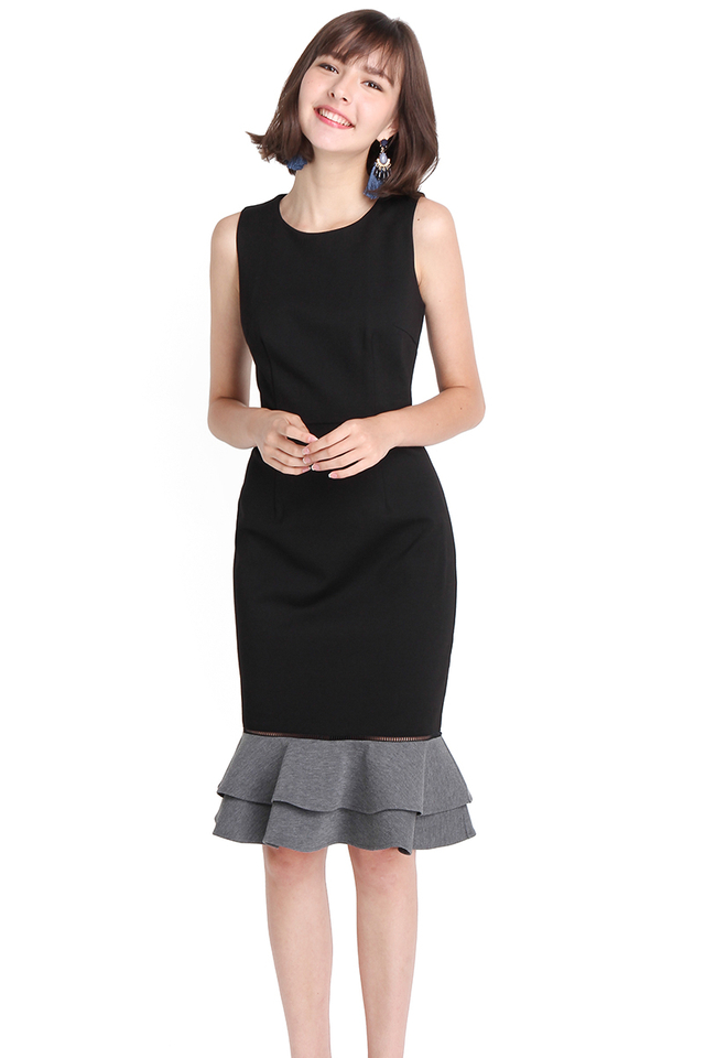 City Lights Dress In Classic Black