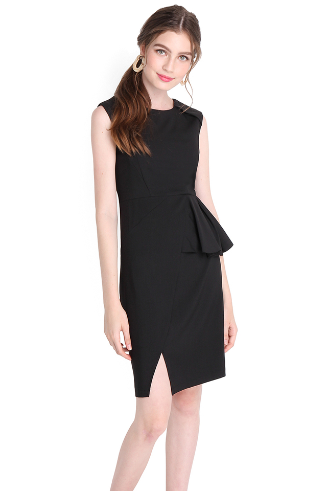 Call It A Classic Dress In Classic Black