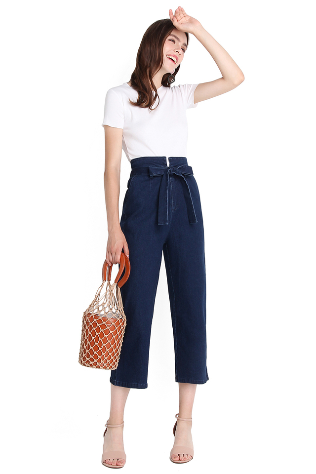 Cruise Along Pants In Dark Wash
