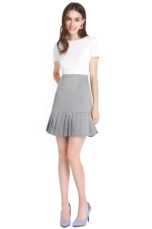 Fated To Love You Dress In Neutral White
