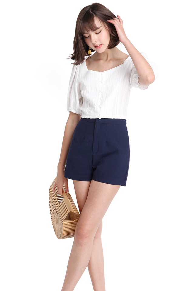 Palpable Heartbeat Top In Summer White