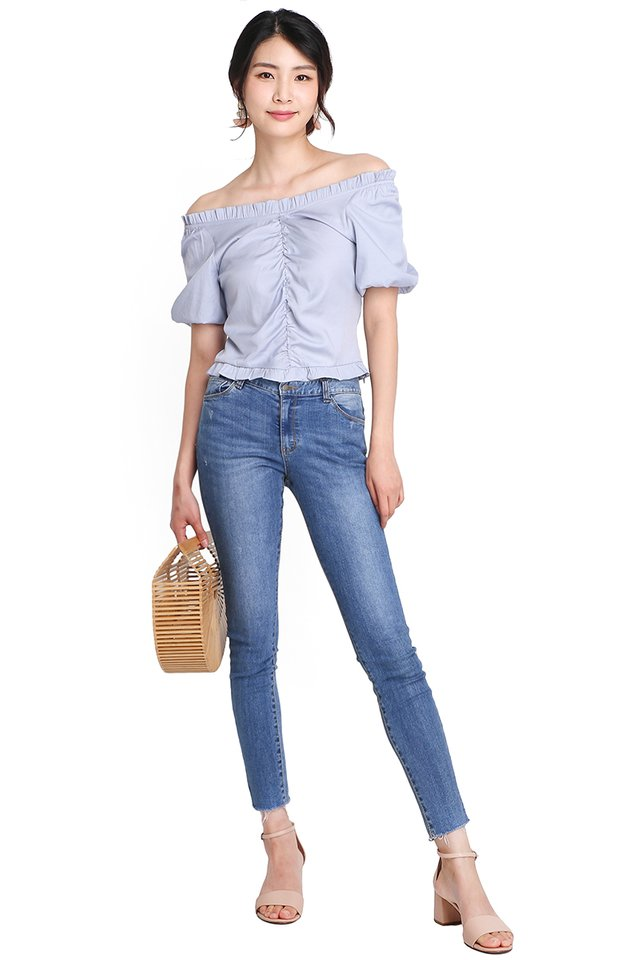 Path To Heaven Top In Sky Blue