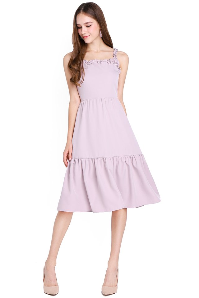 Way Back Into Love Dress In Dusty Lilac