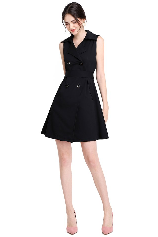[BO] The Jetsetter Dress In Classic Black