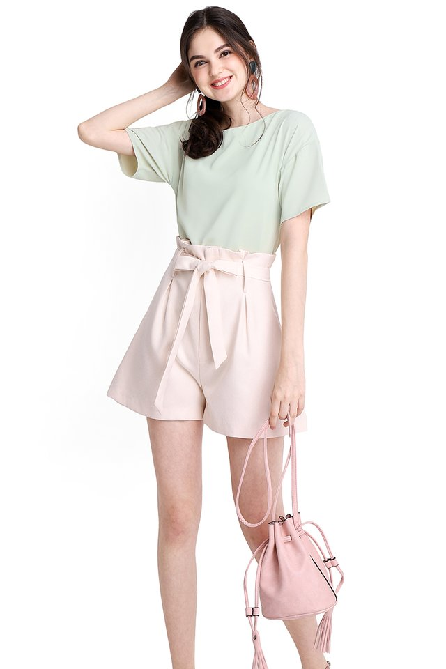 Pleasant Outlook Top In Jade