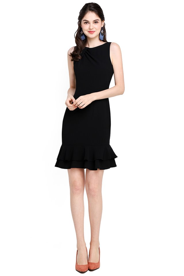 [BO] Captivated By You Dress In Classic Black