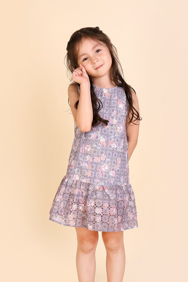 Sleeping Beauty Dress In Lilac Florals