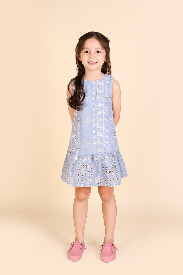 Sleeping Beauty Dress In Sky Blue