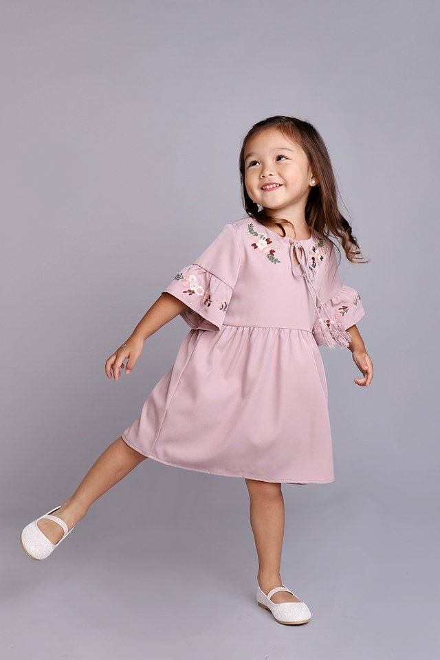 Sugar Coated Dress In Dusty Lilac