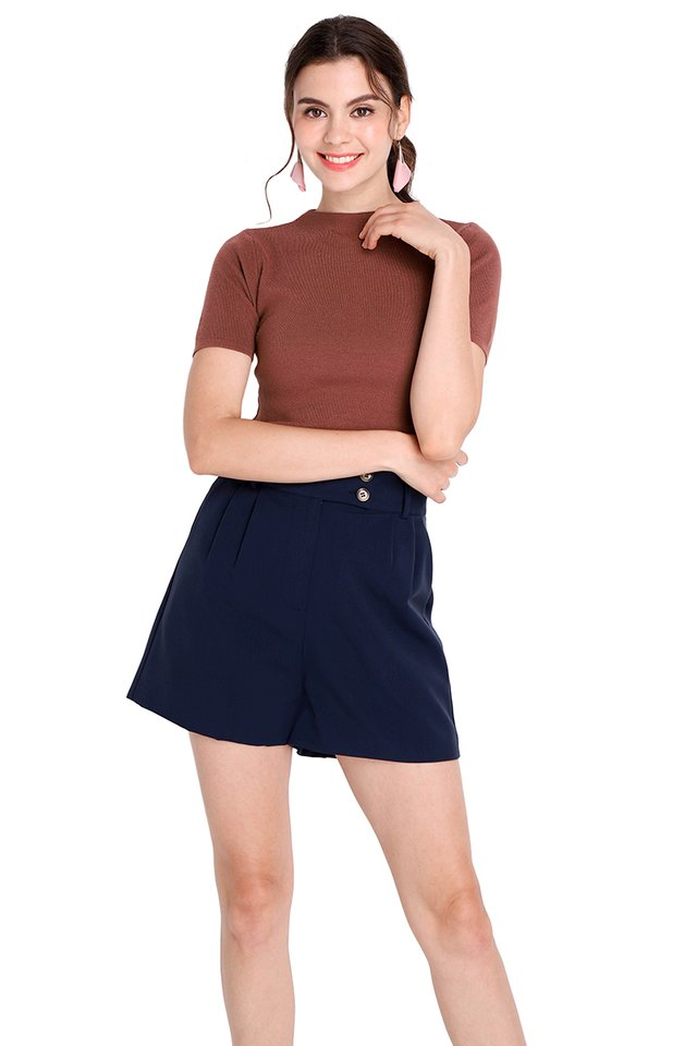 Kimberly Shorts In Navy Blue