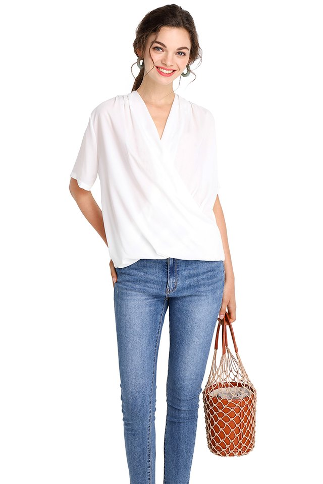 Timeless Classic Top In Classic White