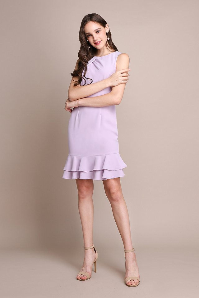 Captivated By You Dress In Soft Lilac
