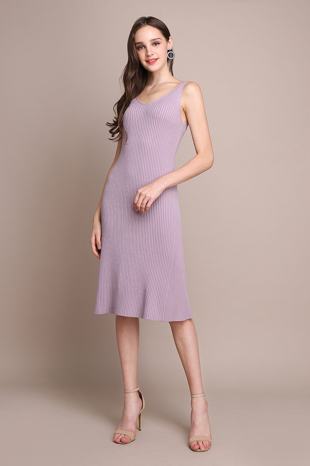 [BO] Valentina Dress In Dusty Lilac