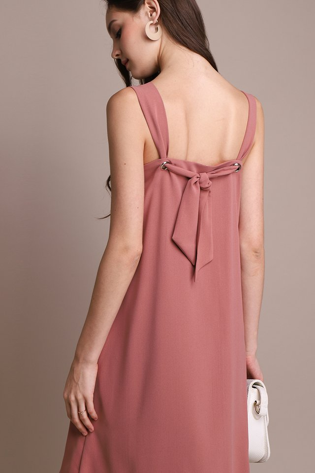 Teatime For Two Dress In Tea Rose