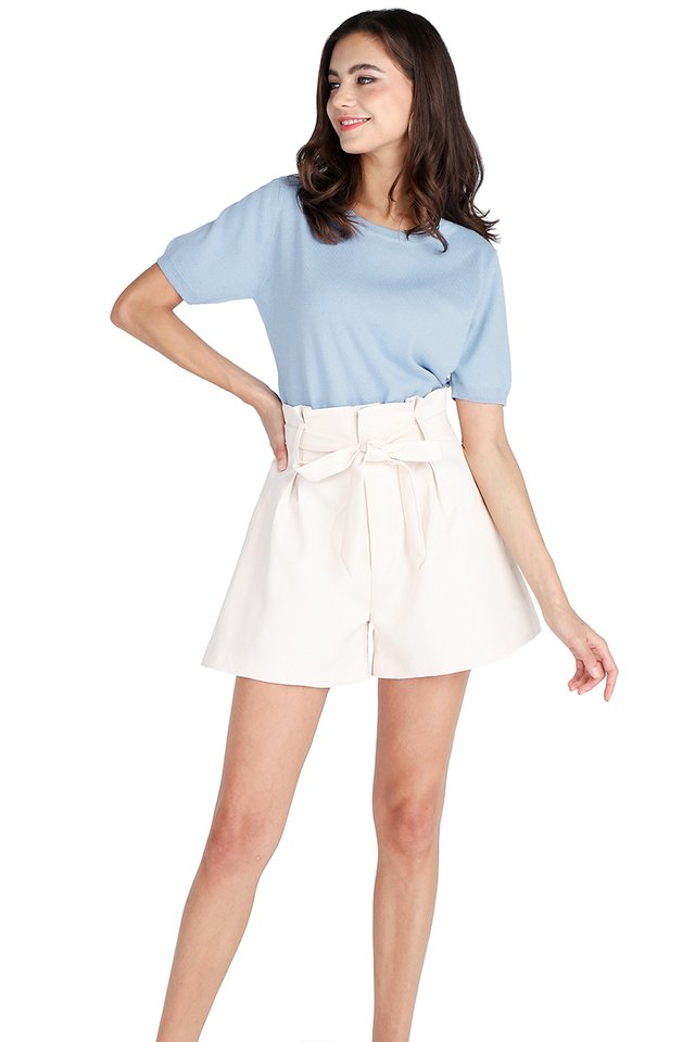 Faith Top In Periwinkle