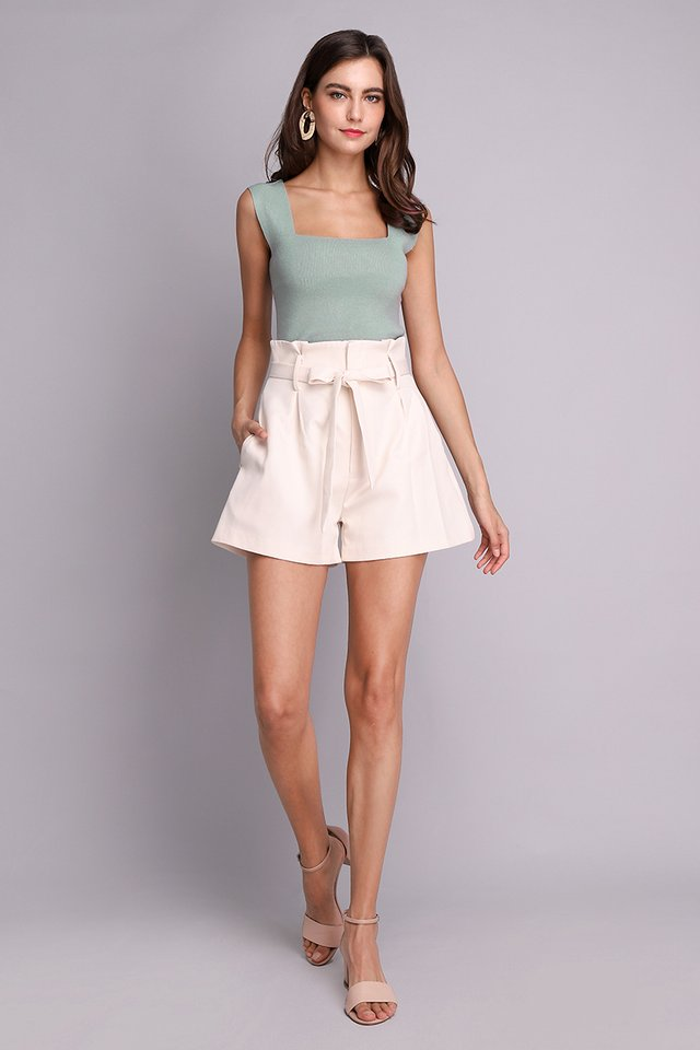 Selena Top In Seafoam