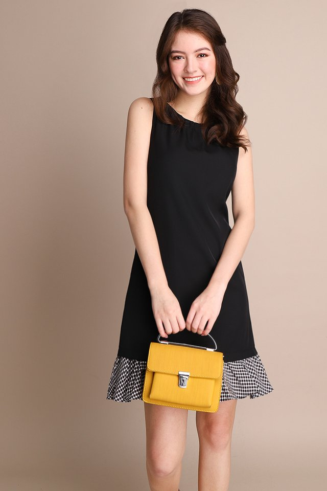 Social Order Dress In Classic Black
