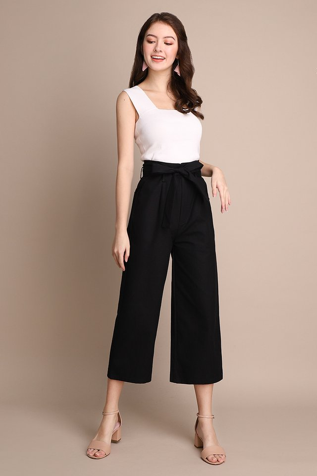 Cruise Along Pants In Classic Black