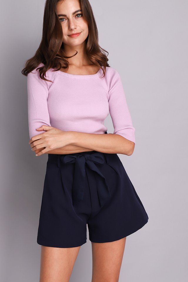 Paige Top In Lavender