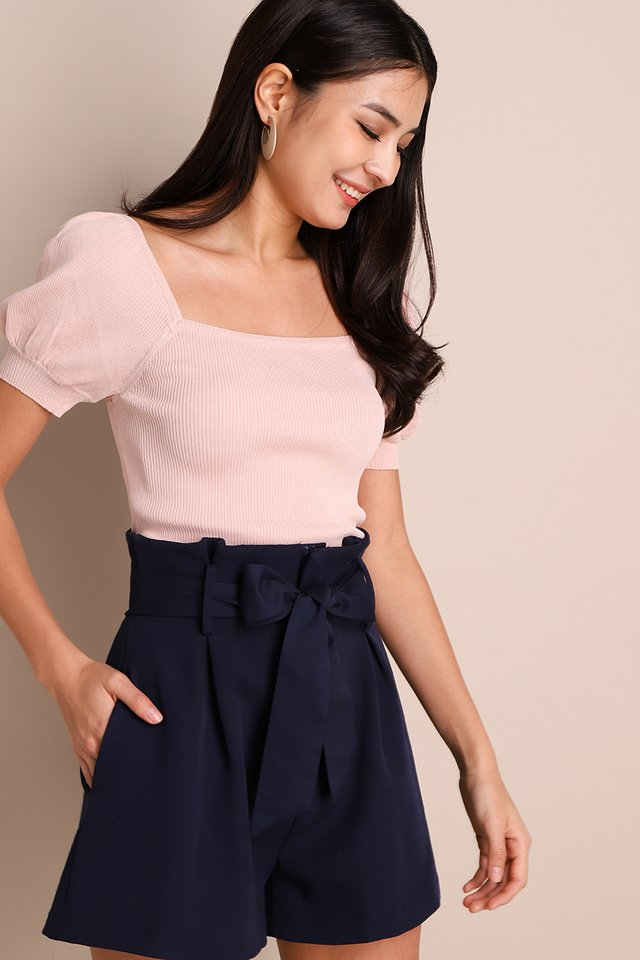 Nicole Top In Dusty Pink