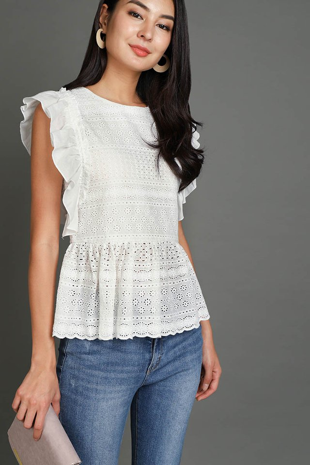 Weekend To Remember Top In Classic White