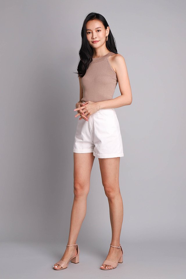 [BO] Oliver Shorts In Classic White