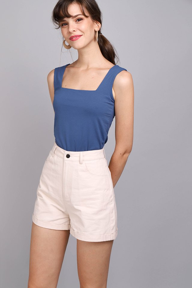 Taylor Top In Marine Blue