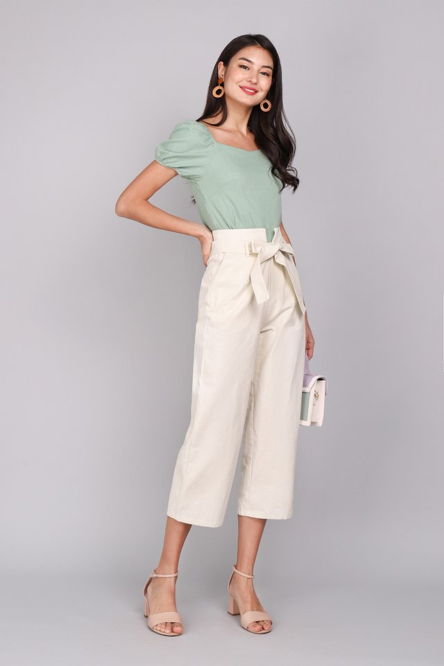Cruise Along Pants In Soft Cream