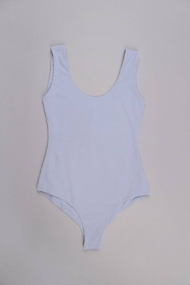 Jennie Bodysuit In Sky Blue