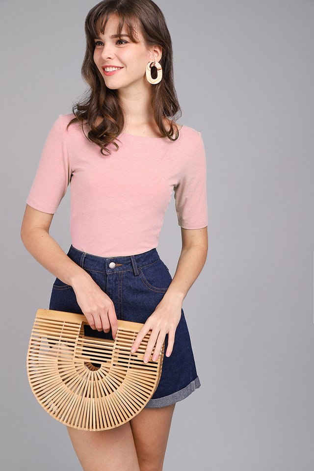 Colette Top In Candy Pink