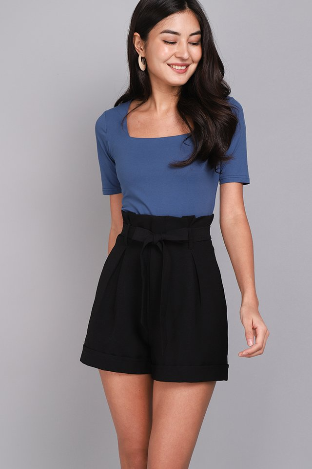 Carrie Top In Marine Blue