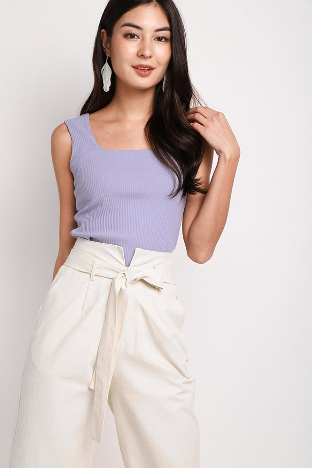 Thea Top In Lavender